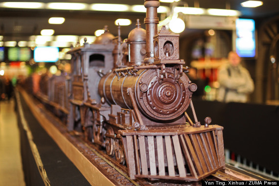 Chocolate train 1