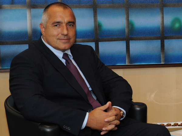 Boyko Borissov at the EC