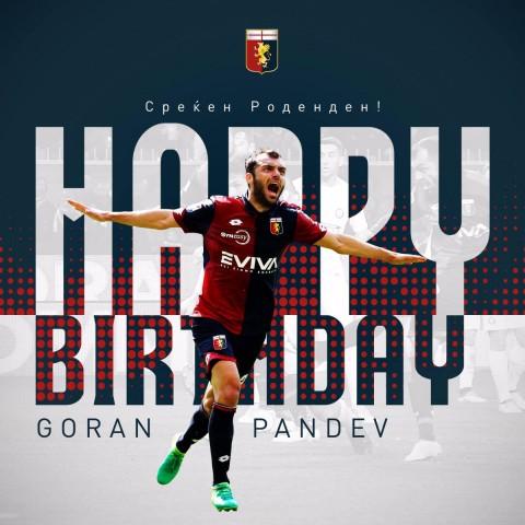 Goran Pandev Genova rodenden