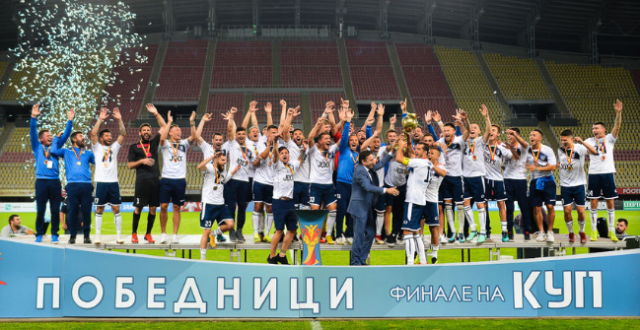 Академија Пандев - куп трофеј - победници