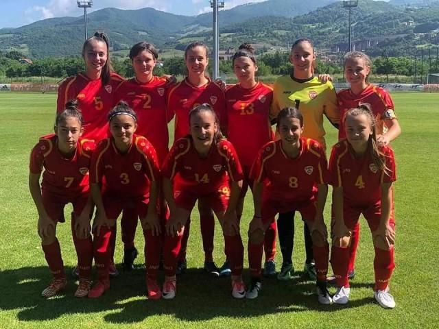 Makedonija U17 - kadetska reprezentacija - zheni