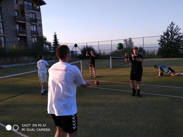 РК Астраион - екипа - припреми Банско - август 2019 2