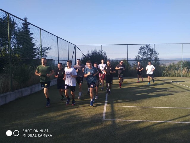 РК Астраион - екипа - припреми Банско - август 2019 4