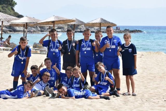 Беласица - млади фудбалери - Грција