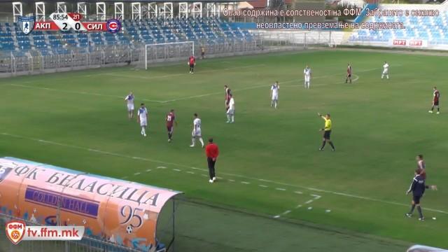 А. Пандев - Силекс - Струмица 9.коло ПМФЛ