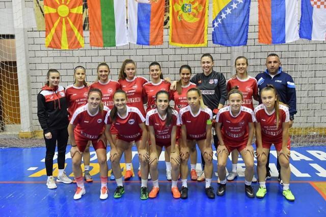 ЖФК Тиверија Струмица - екипа на меѓународен турнир во Црна Гора