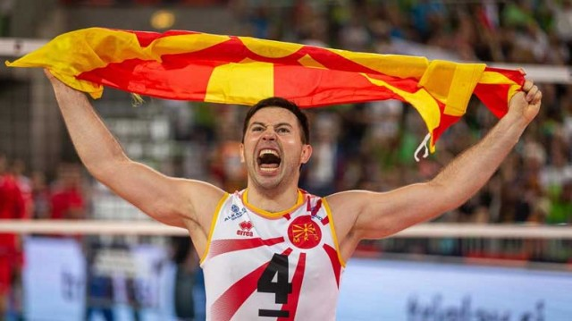 Никола Ѓоргиев - Македонија