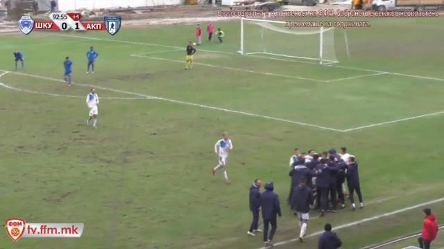 Шкупи - Академија Пандев - Куп на Македонија 4-финале - во Чаир 10