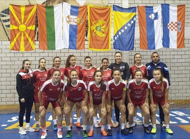 ЖФК Тиверија - во Црна Гора на турнир - екипа