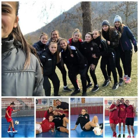 ЖФК Тиверија - подготовки за пролеттен дел од сезоната - 11.01.2020