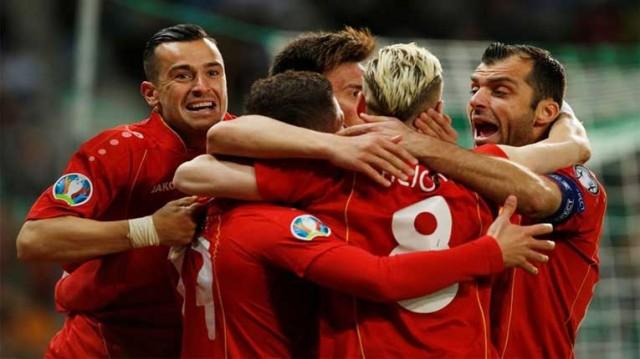 Македонска фудбалска репрезентација