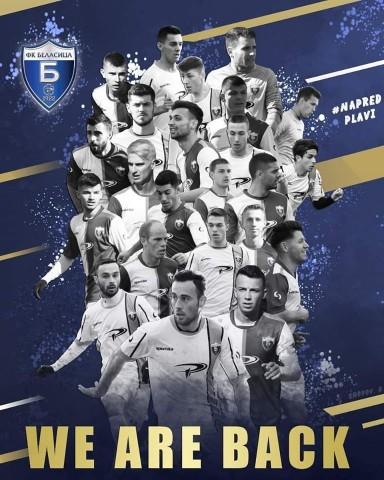 Беласица - во Прва лига