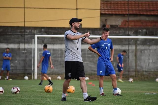 Ване Милков - прв тренинг Беласица за нова сезона