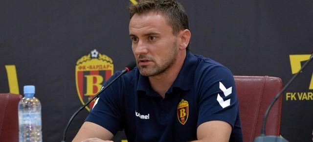 Александар Васоски - тренер на Вардар