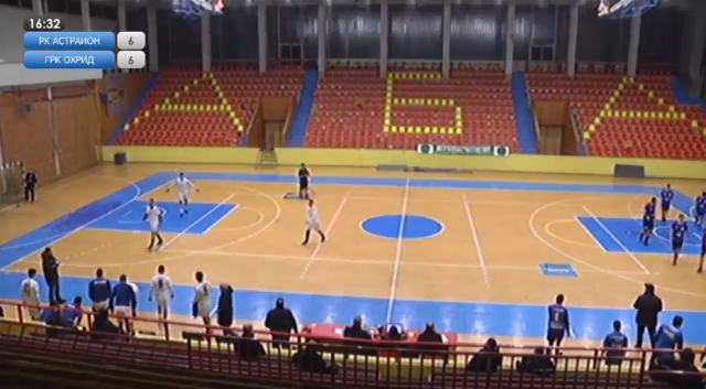 Астраион - Охрид, 13. коло Суперлига