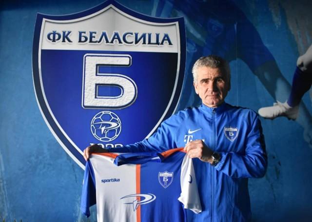 Ѓоре Јовановски - тренер на Беласица 1