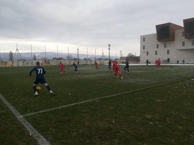 Академија Пандев - Борец контролен натпревар 2021 јануари