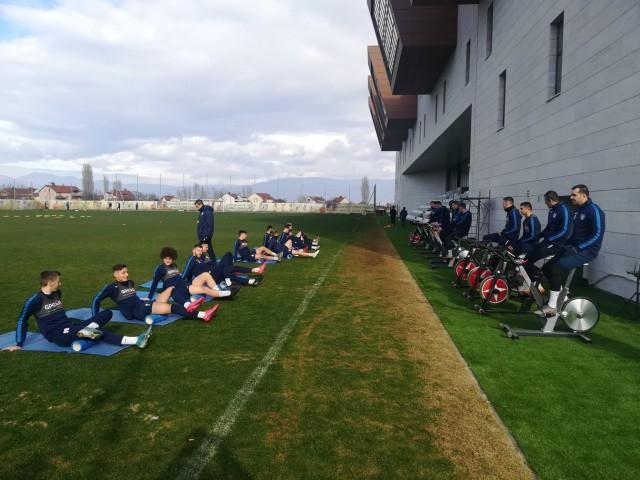 Академија Пандев - тренинг 2021 јануари